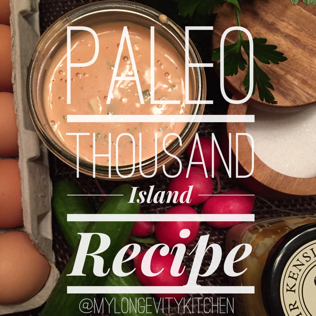 Paleo Thousand Island Recipe
