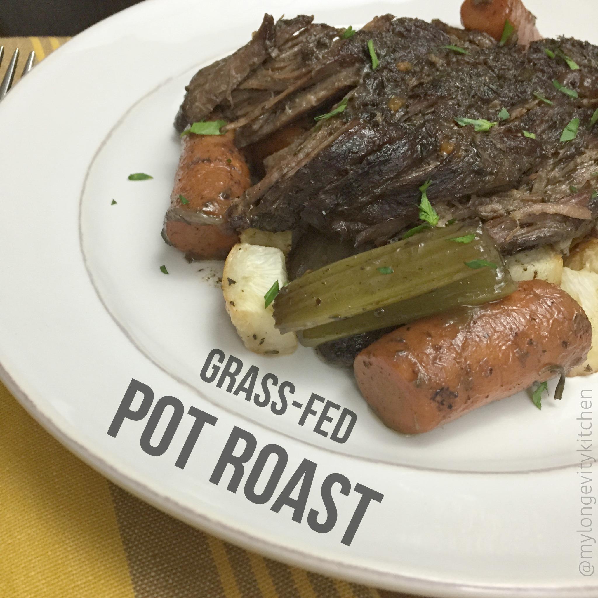 Grass-fed Pot Roast - My Longevity Kitchen