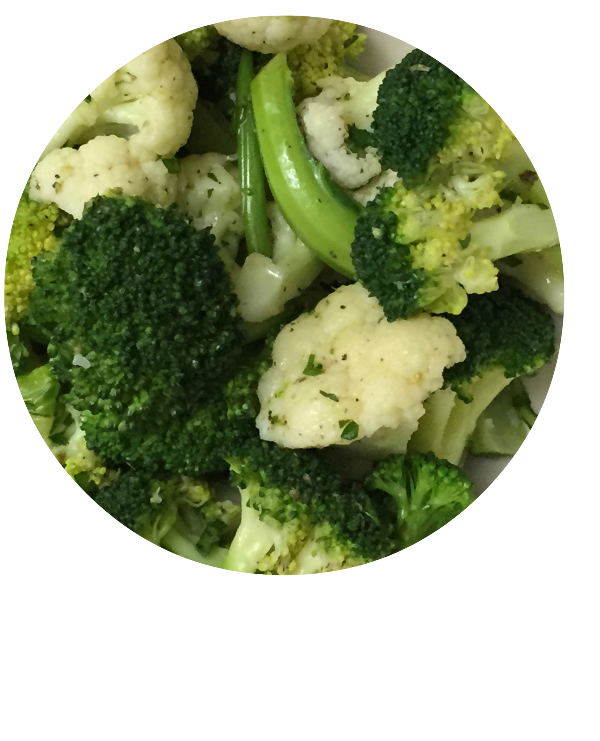 Italian Broccoli Cauliflower main circle