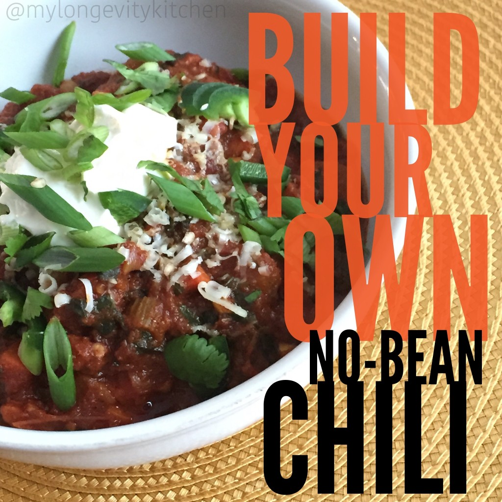 Build-Your-Own No-Bean Chili