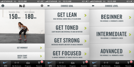 nike training club app - Copy