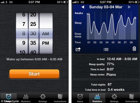 sleep cycle app 2