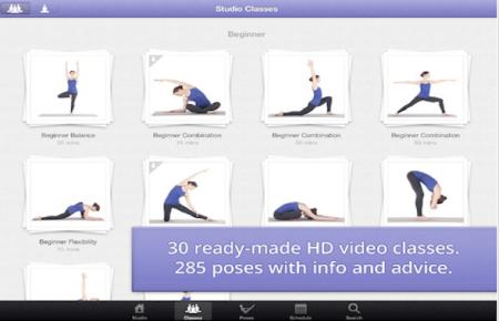 yoga studio app