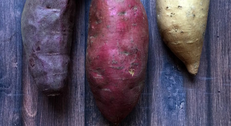 Sweet Potatoes raw crop