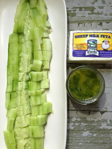 Smashed Cucumber Ingredients