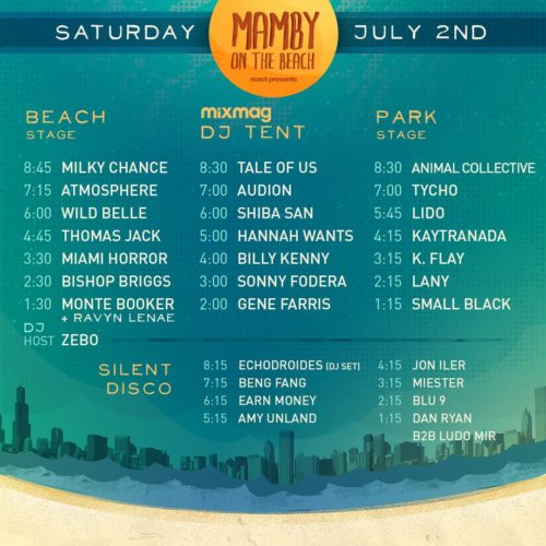Mamby music schedule