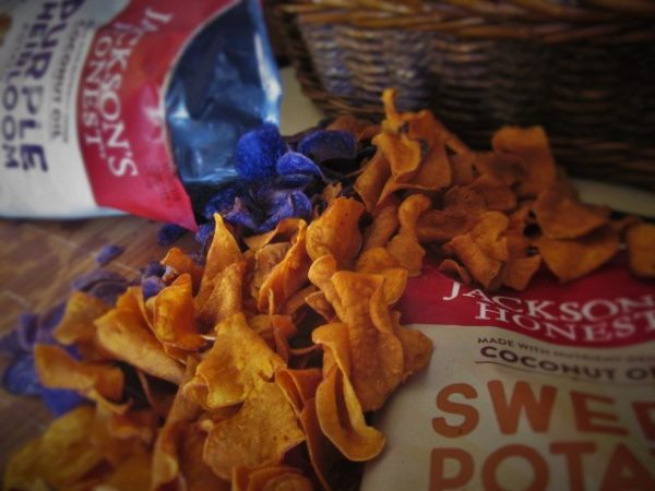 Jackson's Honest Sweet Potato Chips Purple Heirloom Chips