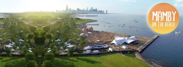 Mamby Chicago Music Festival on the Beach