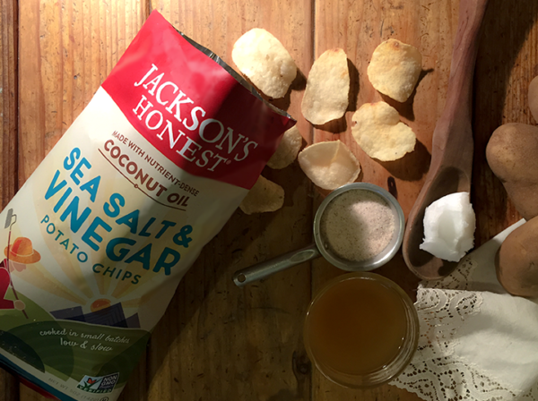 Sea Salt & Vinegar Chips by Jackson's Honest