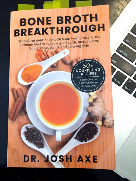 Bone Broth Breakthrough by Dr. Josh Axeq
