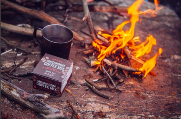 Four Sigmatic instant coffee and mushroom