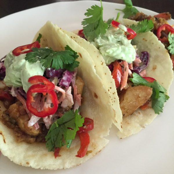 Siete Foods Almond Flour Tortillas, fish tacos by My Longevity Kitchen
