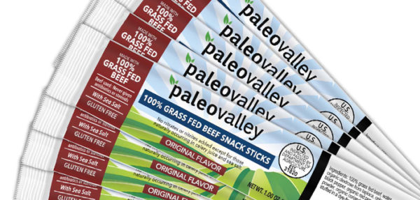 Paleo Valley Grass Fed Beef Sticks