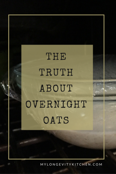 What's wrong with overnight oats, and how to prepare them in the most nutritious way. Recipe included! By Marisa Moon of My Longevity Kitchen