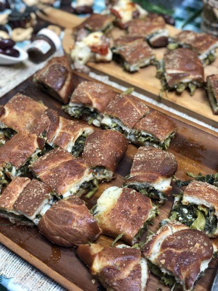 Stromboli Stuffed Bread by Elenas Cucina Chicago Roselle